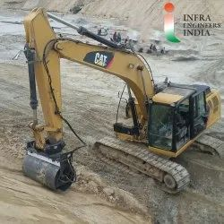 Slope Compactor Vibratory Roller