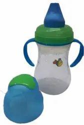 Plastic Baby Feeding Bottle, Age Group: 3-12 Months, Capacity: 200 Ml