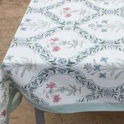 HAND BLOCK PRINT TABLE LINEN