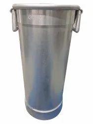 Aluminium Shrikhand Pawali Drum, Capacity: 20 Litre, 18 Inch