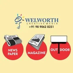 Newspaper Advertisment Advertising Services, in Pan India