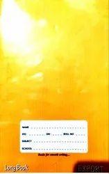 Single Line Long Notebook, For School