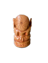 Ganesh Ji Wooden Murti 3 Inch