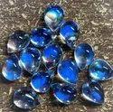 100% Natural Rainbow Moonstone Cabochon, 7X9mm Moonstone Cabochon, Eye Clean Moonstone Gemstone