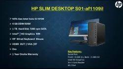 Dos 20 Inch Led HP Desktop Computer, Model Name/Number: S01-af1109il, Intel