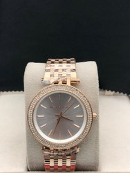 Party Wear Round Michael Kors Watch For Women