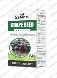 Ssure Grape Extract Softgel 60 Capsules
