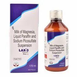 Milk Of Magnesia And Liquid Paraffin And Sodium Picosulfate Suspension