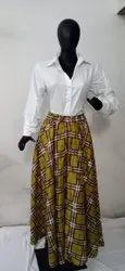 Shirt Skirt Set