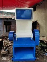 Greenera Engineering Mild Steel Plastic Grinder Machine, For Glass Bottle Crusher, Capacity: 250 kg/ Hour