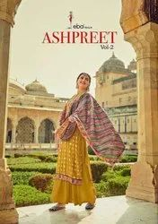 Eba Lifestyle Ashpreet Vol 2 Chinon With Embroidery Designer Suit Catalog