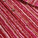 Janasya Men's Pink Cotton Kurta(MEN5015)