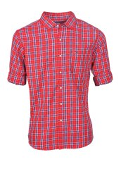 Men Red Casual Shirt