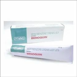 Benoquin Monobenzone Cream, For Personal, Packaging Size: 30gm