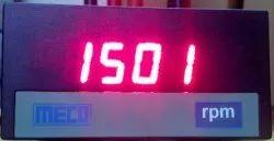Digital RPM Indicator