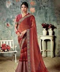 Mangaldeep Festive Wear Ladies Silk Saree, With blouse piece, 5.5 m (separate blouse piece)