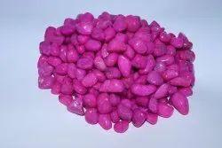 Aquarium Pink Colour Pebbles Stone