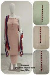 Mishthi Suits Cotton Anupama Digital Dupp Suit