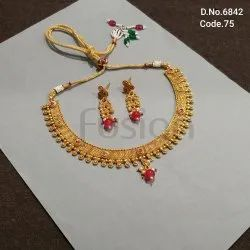 Fusion Arts Traditional Party Wear Necklace Set