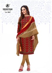 Cotton Deeptex Tradition Vol 8 for Ladies Wear