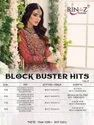 Rinaz Fashion Block Buster Hits Vol 9 Fox Georgette With Embroidery Pakistani Suit Catalog