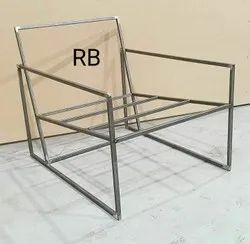 Silver Stainless Steel Chair Frame