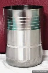 Stainless Steel Water Drinking Glass, Material Grade: Ss 304, Capacity: 340-350 Ml
