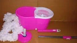 Pink Buckets Mop