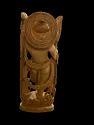Krishan Ji Wooden Murti 10 Inch