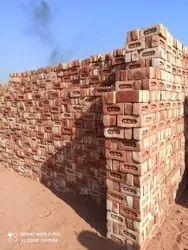 Clay Rectangular 60 Mm Red Bricks, Size: 9 X 4 X 3 Inch