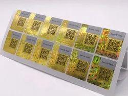 Hologram Paper Sticker