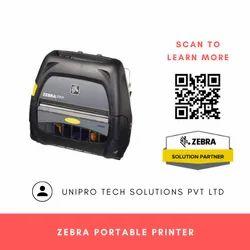 Zebra Portable Printer