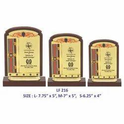 Wooden Memento Trophy