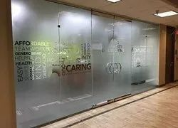 Printologyconcept Frosted Film With Plotter Cutting