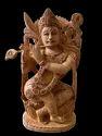 Krishna Ji Wooden 8 inch