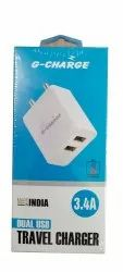 G-Charge GC-59 Dual USB Travel Charger
