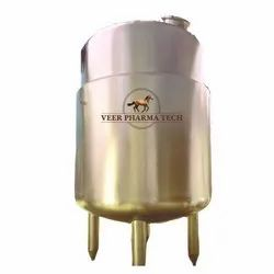 1000L Steam Jacketed Vessels