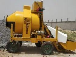 Mini Mobile Concrete Batching Plant RM800