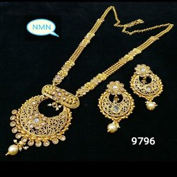Long Bijoux Necklace And Earing Set For Women And Girl Bijoux