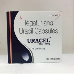Uracel (Tegafur 100 + Uracil 224 Capsules)