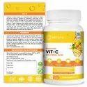Vitamin C Capsules - Elicura Vit-C (60 Veg Capsules)
