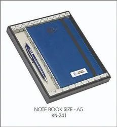 Corporate Diary And Pen Set