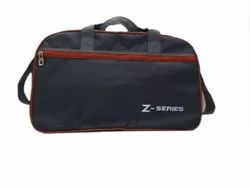 Polyester ZS- Black Travel Handbag, For Travelling, Size/Dimension: 19 Inch ( Length)