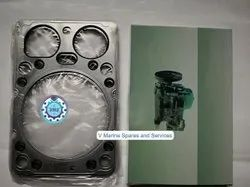 Steel Cylinder Head Gasket, Thickness: 4mm