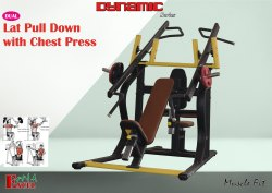 LAT PULL DOWN WITH CHEST PRESS