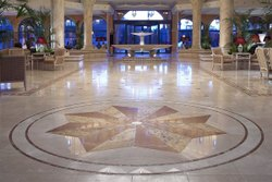 Commercial Building Marble Flooring Service