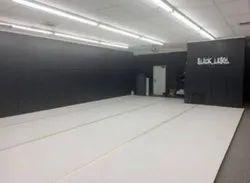 White Flooring Mat Roll 2mm Thickness