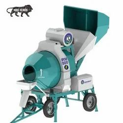 Mini Batching Plant With Reversible Drum Mixer