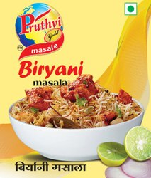 Pruthvi Gold Biryani Masala Powder, Packaging Size: 50 gm, Packaging Type: Packets