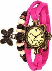 Butterfly bracelet girls watch